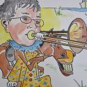 karikatuur-2012-ezel_trompet
