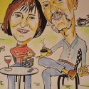 karikatuur-2013-carla_en_klaas_35jaar_getrouwd