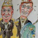 karikatuur-prins_paul_en_adjudant_jean