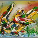 tuinkunst-krokodil